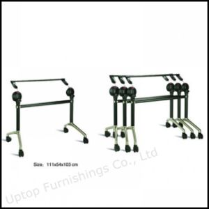 Removable Office Meeting Folding Table Base with Wheel (SP-FTL080) pictures & photos