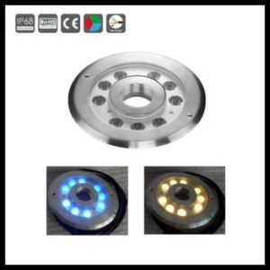 DMX Control 27W High Quality RGB Ring Fountain Light pictures & photos