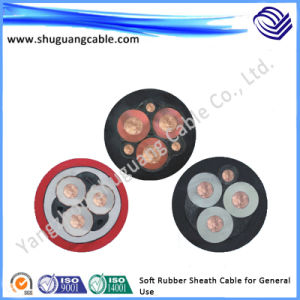 Soft Rubber Sheath Electric Cable for General Use pictures & photos
