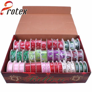 Printed Ribbon in Gift Box Packing pictures & photos