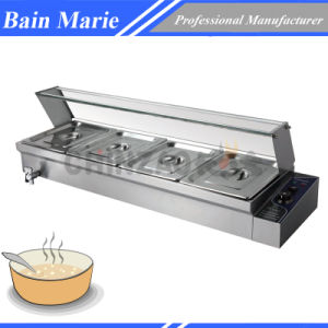Stainless Steel Kitchen Equipment Electrjc Bain Marie pictures & photos