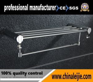 Stainless Steel Polished Towel Rack (LJ5501A) pictures & photos