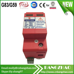 20ka 3+Npe 1000V DC Power Surge Protection Device SPD pictures & photos
