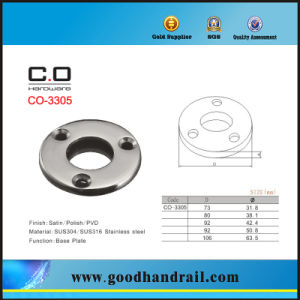 Stainless Steel Base Plate (CO-3305) pictures & photos