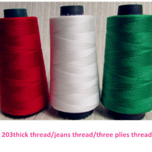 Spun Polyester Sewing Thread (40s/2 5000Y/M) pictures & photos