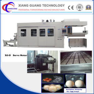 Fully Automatic High Quality Plastic Vacuum Forming Machine with Servo Motor pictures & photos