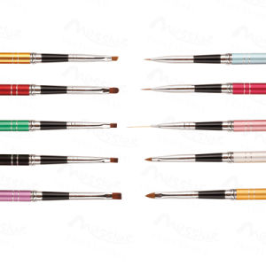 10PCS/Set Nail Art Brush for UV Gel Draw Painting Pen Tool Accessories Set pictures & photos