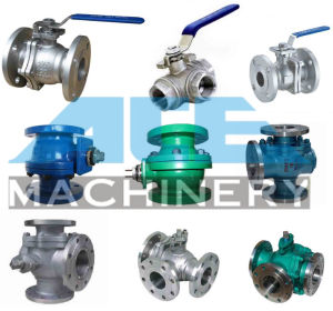 Stainless Steel Sanitary Two Way Ball Valve (ACE-QF-5F) pictures & photos