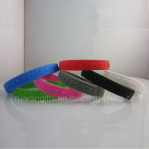 Sports Silicone Bangle Jewelry (SIB044) pictures & photos