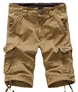Men Fashion Cotton Multi Pocket Cargo Shorts 55610 pictures & photos