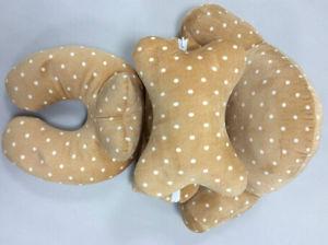 DOT Pattern Neck Pillow Waist Cushion Pillow Set (T183) pictures & photos