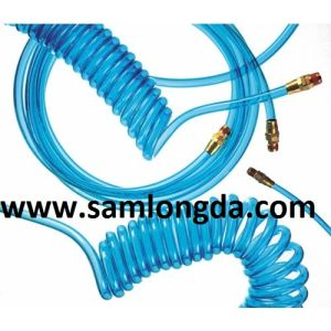 Clear Blue PU Coil Tube / PU Tube pictures & photos
