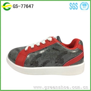 Injection Shoes Cheap Fashion Printing Artwork for Children pictures & photos