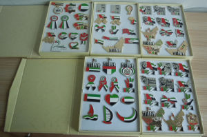 National Day UAE Pins Packing with Gift Box, Sets Gifts Pins UAE pictures & photos