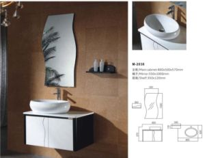 New Modern Bathroom Vanity Cabinet with Mirror pictures & photos