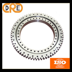 Industrial Single-Row Four Point Contact Ball Slewing Bearings External Gear pictures & photos