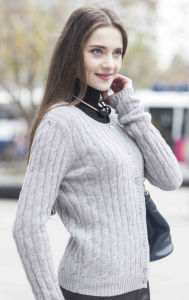 Ladies′ Fashion Cashmere Sweater (1500002030) pictures & photos