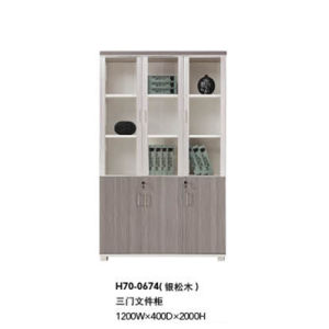 Hot Sale Modern Office Wooden File Cabinet (H70-0674) pictures & photos