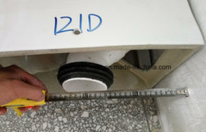 Distance Can Change S-Trap Two-Piece Ceramic Toilet pictures & photos