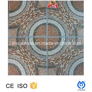 400X400mm 3D Ink Jet Print Stone-Look Porcelain Floor Tile (JX4308)