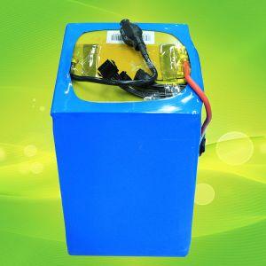 High Capacity Rechargeable 24V 48V 76V 30ah/40ah/50ah/60ah/90ah/100ah LiFePO4 Battery for Golf Cart pictures & photos