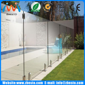 Customized Cheap Frameless Swimming Pool Tempered Glass Guard Fence Manufacturers pictures & photos