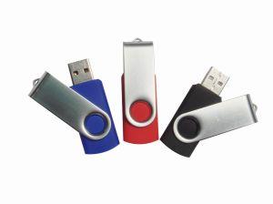 Promotional Swivel USB Flash Drive, 2g Twist Pen Drive USB Flash Drive, pictures & photos