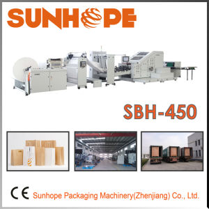 Sbh450 Square Bottom Paper Bag Making Machine pictures & photos
