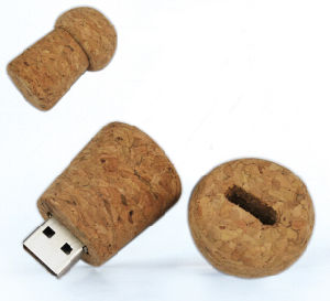 Mushroom Shape Wood USB Flash Driver