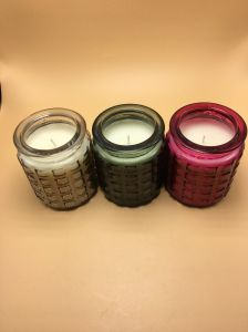 Smokeless High Quality Scented Candle in Glass Jar pictures & photos