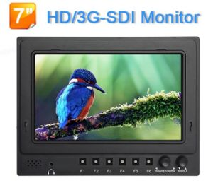 New Arrival! LCD 7 Inch HD Sdi Monitor with Nine Grid Image, Peaking Focus for Broadcast pictures & photos