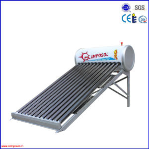 High Efficiency Heat Pipe Pressurized Solar Water Heater pictures & photos