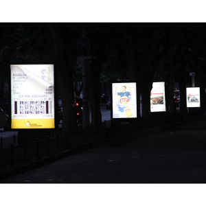 Street Stand Backlit Scrolling Signage-3 pictures & photos