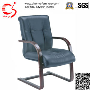 Soft Meeting Office Chair with Wooden Armrest (CY-C8030-3AL)