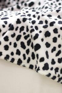 Leopard Short Plush Print Fleece Blanket pictures & photos