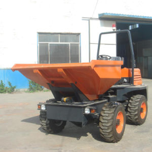 3.0t Site Dumper with Rotating Bucket Fcy30r pictures & photos