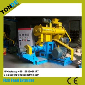 Dry Floating Fish Feed Pellet Processing Line Extruder Machine pictures & photos