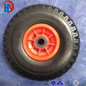 Wheel Barrow Pneumatic Rubber Wheel Tire 3.00-4 pictures & photos
