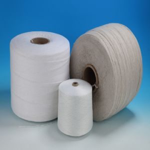 Recycled Cotton/Polyester Filler Yarn (LT) pictures & photos