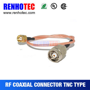 90 Degree Female Gender TNC Connector for PCB Mount pictures & photos