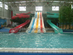 Fiberglass Water Slide for Water Park (HZQ-01/03)