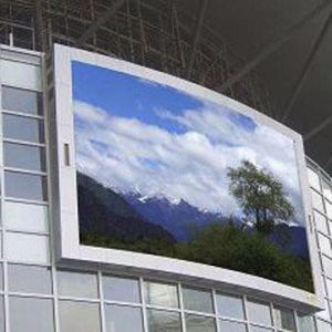 Curve LED Display pictures & photos
