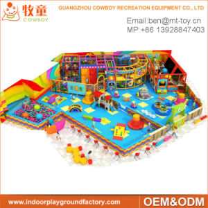 Indoor Playground/Soft Play Area/Amusement Park Equipment with Ce pictures & photos