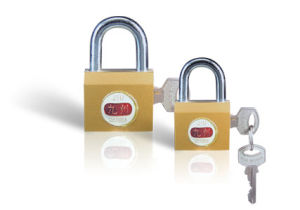 Imitate Brass Padlock Iron Locks (BG201) pictures & photos