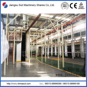 China Suli Automatic Electrostatic Lightbox Coating Production Line pictures & photos