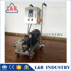 Good Quality Stainless Steel Rotary Lobe Pump for Honey pictures & photos