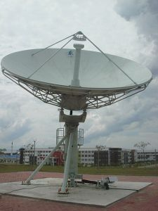 7.3m Satellite Earth Station Rx Only Antenna pictures & photos