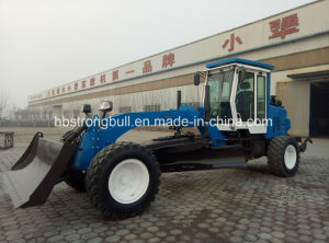 8 Ton Hydraulic Transmission Mini Motor Grader Land Grader Earthmoving Equipment Xjn Py9120 pictures & photos