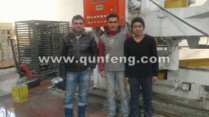 High-Speed Elaborate Colored Tiles Moulding Line \Roof Tile Machine pictures & photos