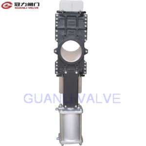 Through Conduit Knife Gate Valve for Paper and Pulp pictures & photos
